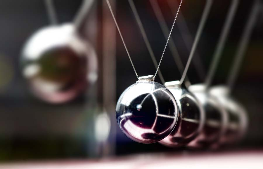 pendulum physics topic up close shot