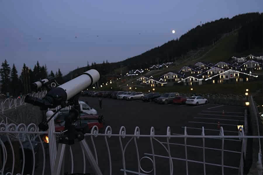 telescope for observing and studying astronomy